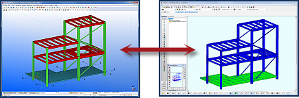 tekla to s-frame bim links